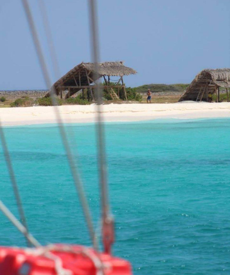 Klein-Curacao-Deals-Zeilboot-op-Klein
