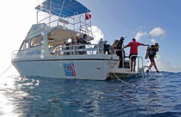 Klein-Curacao-Diving-Jumping-in