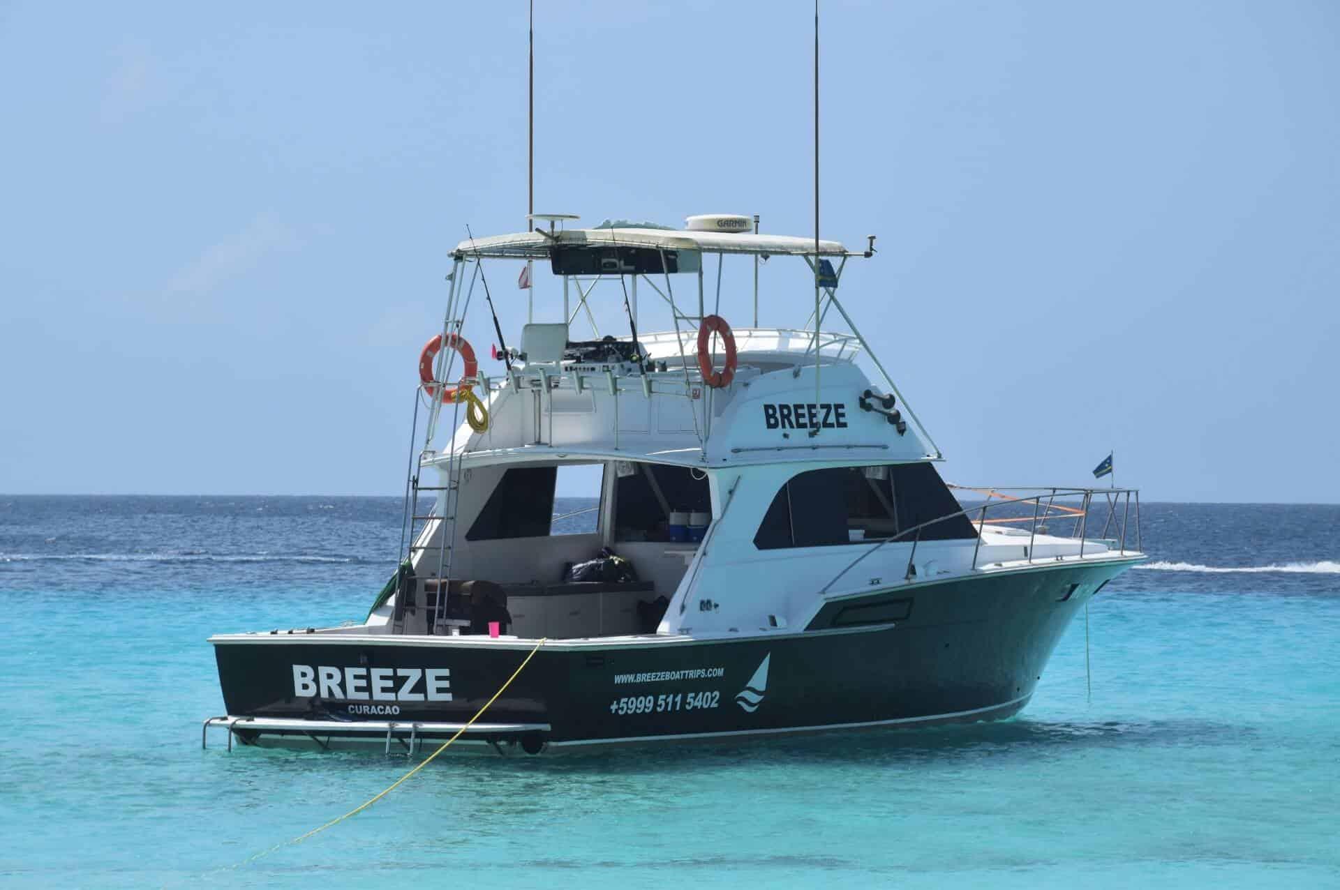Klein Curacao Boottocht