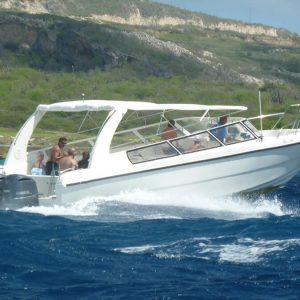 speedboat taxi Klein Curacao