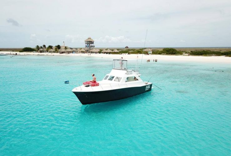 Klein Curacao boat charter