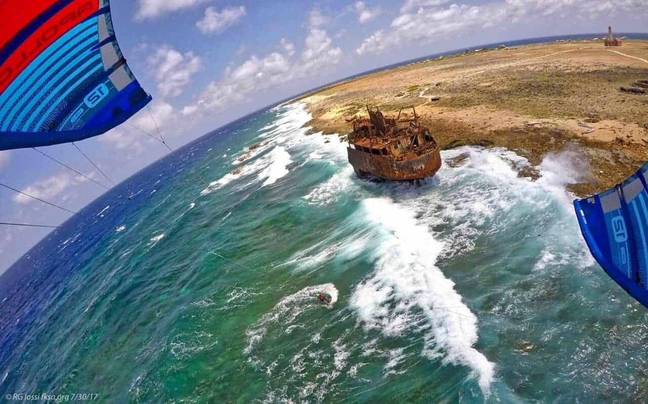 kitesurfing Klein Curacao